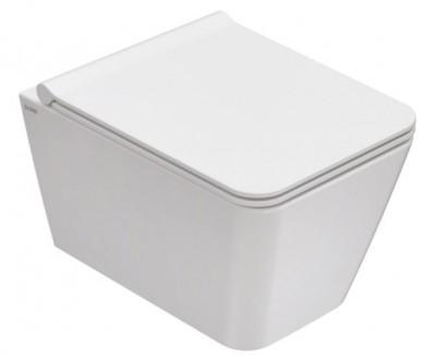 Окачена тоалетна чиния INCANTHO с капак плавно затваряне