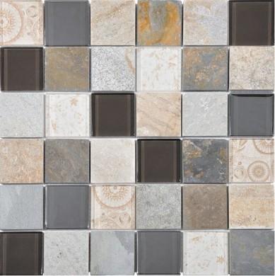Стъклокерамична мозайка Elements Beige
