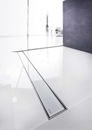 Линеен сифон с решетка GLASS - 900mm