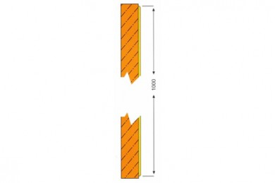 Протекторна плоча за стена WG 1004