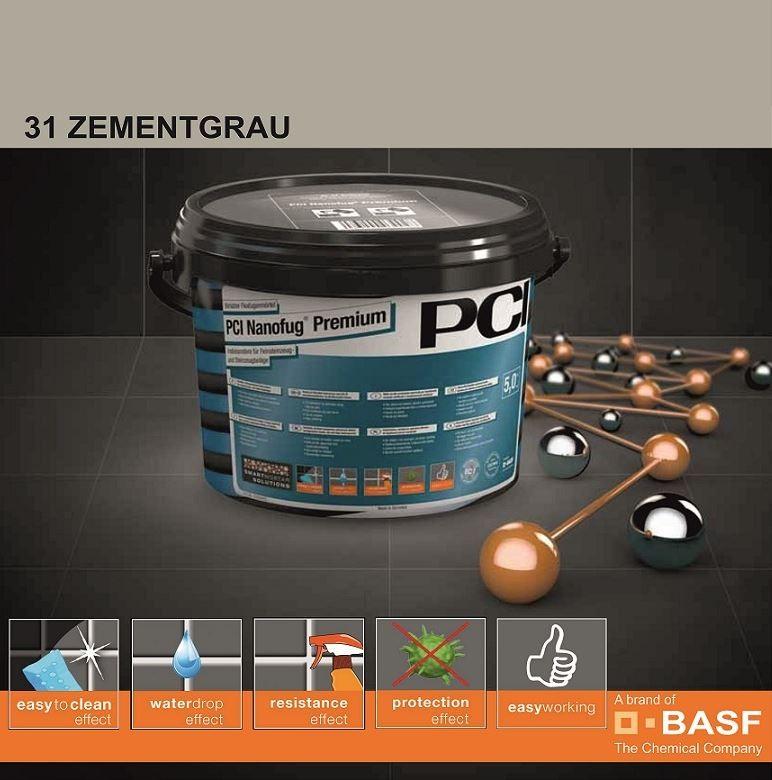 Фугираща смес Nanofug Premium - 31 Zementgrau  5кг