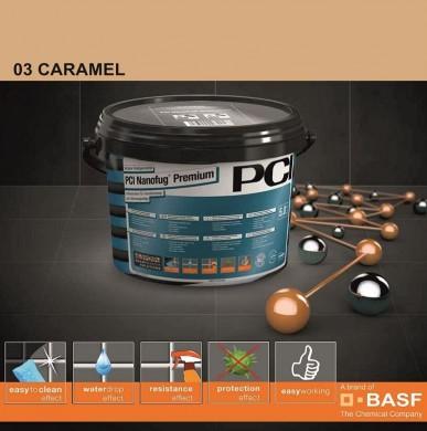 Фугираща смес Nanofug Premium - 03 Caramel 5кг