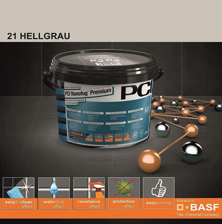 Фугираща смес Nanofug Premium - 21 Hellgrau  5кг