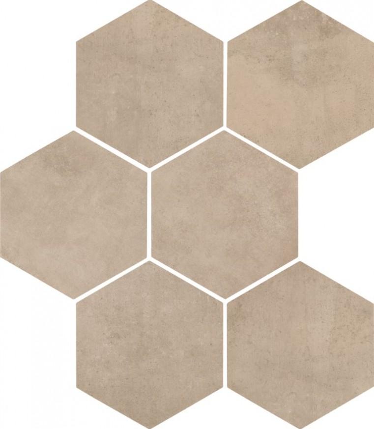 Гранитогрес Clays Esagone Shell 21x18.2