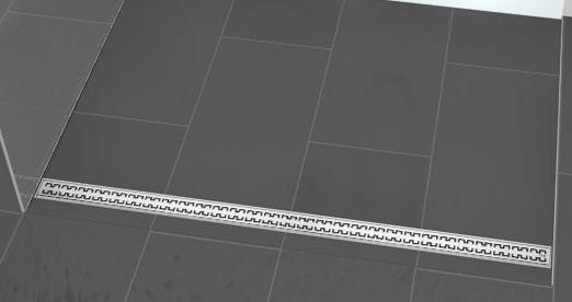 Линеен сифон с решетка ROYAL - 700mm