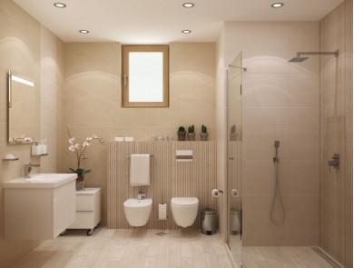 Плочки за баня Interiors беже 20x50