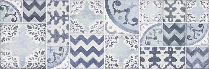 Декор Pottery Light/Turquoise/Ocean 25x76