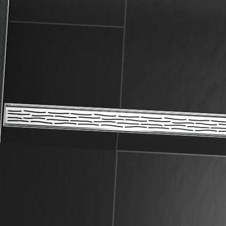 Линеен сифон с решетка ORGANIC - 900mm