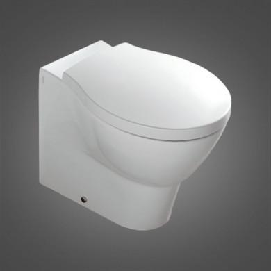 Стояща тоалетна чиния HATRIA NIDO с капак плавно затваряне 55.5x36
