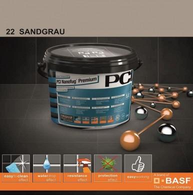 Фугираща смес Nanofug Premium - 22 Sandgrau 5кг